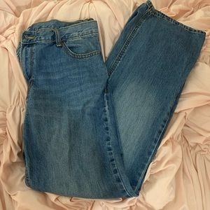 Old Navy Loose Boot Cut Boys Jeans size 18 Husky